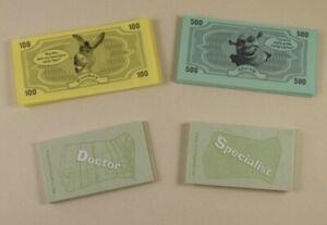 Operation Game 2004 Shrek  Money & 24 Cards  #OP58