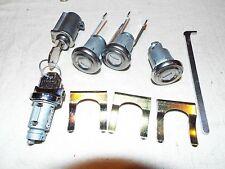 1955-1956-1957 Chevy Belair 210 150 Lock Cylinder Set Ignition Door Trunk Glove