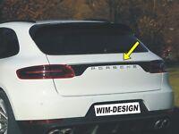 """HECKKLAPPE-DESIGN Aufkleber für Porsche MACAN """"Made in Germany""""            01-77"""