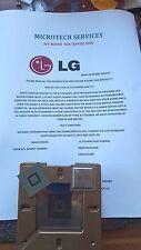 LG 37LD490 EBU61081924WR EAX61531909 REPAIR SERVICE PLEASE READ THE ADVERT