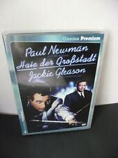 2 DVD HAIE DER GROSSSTADT / PAUL NEWMAN / JACKIE GLEASON / WIE NEU