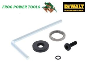 DEWALT UNIVERSAL FLANGE SET + 5MM ALLEN KEY FOR DCS355 OSCILLATING MULTI TOOL