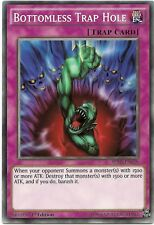 Bottomless Trap Hole SDHS-EN038 Common Yu-Gi-Oh Card 1st Edition New