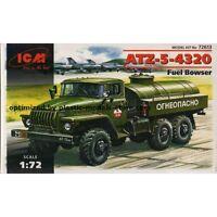 ICM 72613 - 1/72 ATZ-5-4320 Soviet Fuel Bowser, scale plastic model kit