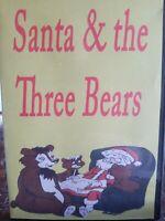 Santa And The Three Bears DVD Animated Classic 1970 Holidays Christmas Family