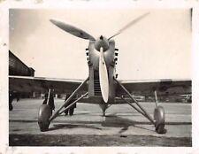 Franz. Flugzeug Dewoitine D.510 Flugplatz Dijon Frankreich