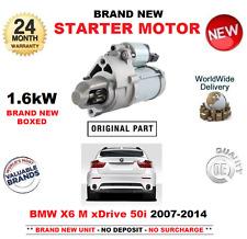 PARA BMW X6 M xdDrive 50 i MOTOR DE ARRANQUE 2007-2014 UNIDAD 1.6kW E71 E72
