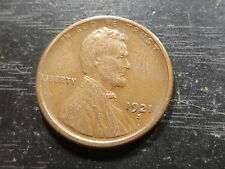 1921 S Lincoln Wheat Cent  ~ Solid Album Filler Coin ~