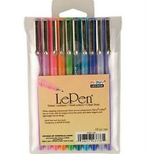 Uchida LE PEN .03mm Point Pen Set 10-Pack BRIGHT 4300-10C ~ New in Package
