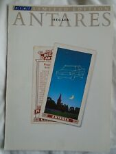 Fiat Regata Antares brochure Feb 1988