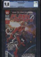Flash Forward #1 CGC 9.8 Wally West BRETT BOOTH Doc Shaner cover