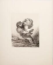 A. Paul Weber/Lithographie/ Ins Magazin/1971/ Bleistift  signiert/Dorsch1217