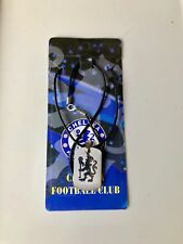 CHELSEA FC Necklace Stainless Steel Logo Excellent Design Brand New