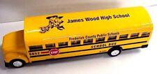 "Superior 6"" long School Bus with custom graphics, James Wood High School"
