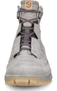 New! ECCO Exostrike Men's 11-11.5 Dyneema Leather Wild Dove Grey Outdoor Boot