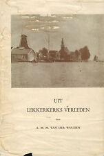 v d Wouden, Lekkerkerk Verleden, Krimpenerwaard Zuid-Holland, niederländ., 1959