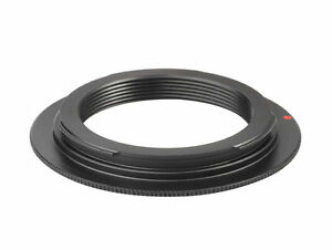 M42 Lens to Canon EOS Body Adapter NO FLANGE EF Mount M42-EOSN - UK SELLER