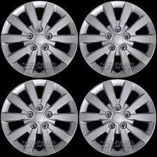 """4 New 2013-2017 Nissan Sentra S SV 16"""" Wheel Covers Snap On Full Rim Hub Caps"""