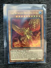 Yugioh - The Winged Dragon of Ra -  LED7-EN000 Ultra Rare 1st Ed Mint