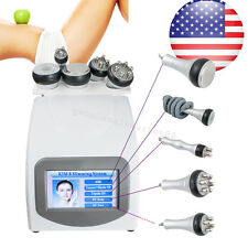 Ultrasonic Cavitation Radio Frequency Body Slimming Vacuum Machine + 5 Heads USA