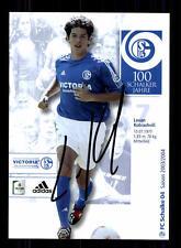 Levan Kobiashvili Autogrammkarte FC Schalke 04 2003-04 Original Sign+A 132718