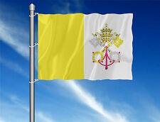 Vatikan Kirchenfahne Flagge Fahnen Hissflagge  120 x 80 cm