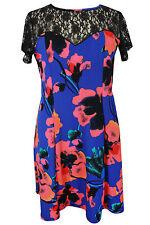 Unbranded Viscose Floral Plus Size Dresses for Women