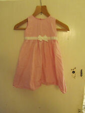 Mothercare Pink & White Spotted Summer or Party Dress - 3 - 4 years