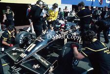Elio de Angelis JPS Lotus belga GP 1984 fotografía