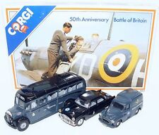Corgi Toys 1:43 50th Anniversary BATTLE OF BRITAIN FORD & BEDFORD Car Set MIB`89
