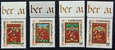LIECHTENSTEIN - timbre/stamp Yvert et Tellier n°871 à 874 n** (cyn5)