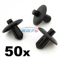 50x Trim & Body Panel Clips- Fit some Audi wheel arch, grille, cabin.. 4D0807300