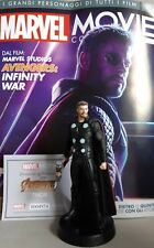 MARVEL MOVIE COLLECTION #95 Thor Figurine (Avengers: Infinity War) EAGLEMOSS ita