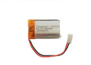 Lipo Akku 3.7v - 400mAh - Polymer Battery 3,7v - 400 mAh