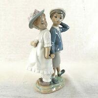 Lladro Puppy Love Large Figurine 1127 Glazed Galanteo Infantile Vintage Retired