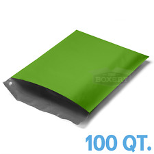 100 - 10x13 Green Poly Mailers Envelopes Bags 10 x 13 - 2.5Mil from The Boxery