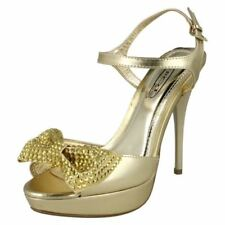 Decolté e sabot da donna Spot On con tacco altissimo (oltre 11 cm) oro