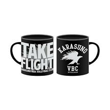 Haikyuu! Karasuno Take Flight Logo Cospa Coffee Mug Cup NEW