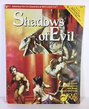 Shadows of Evil Role Aids Book 717 Advance Dungeons and Dragons