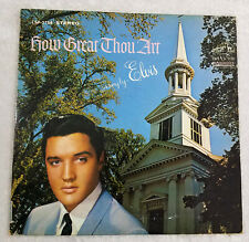 ELVIS PRESLEY How Great Thou Art RCA VICTOR LP VG+ STEREO DYNAGROOVE