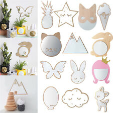 Beautiful Girls Paste Acrylic Wall Hanging Mirror Decals Kids Room Decal Decor