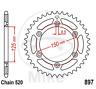 KTM Kettenrad Schwarz auch LC4 EXC SX SXF 42 Zähne