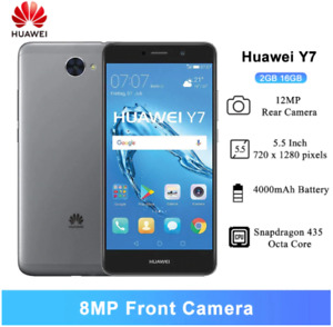 Huawei Y7 2017 Smartphone 2GB 16GB ROM Snapdragon 435 Octa Core Global Version