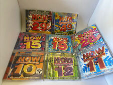New ListingLot Of 8 Now That's What I Call Music 10 11 12 15 19 28 29 49 Pop Rock Jazz Cd