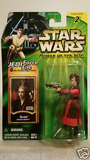 """SABE QUEEN'S DECOY 3.75"""" ACTION FIGURE STAR WARS POWER OF THE JEDI"""
