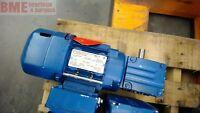 Sew-Eurodrive W20Drs71S4Be05Hr Gear Motor, .25 Hp, 1700, Rpm, 230/460 Volts,