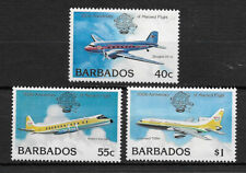 BARBADOS , 1983 , 200TH ANNIV. , SET OF 3 STAMPS , PERF , MNH