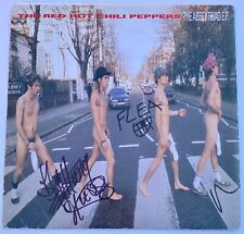 RARE! Red Hot Chili Peppers Abbey Road E.P. Signed X3 Anthony Kiedis Flea PROOF!