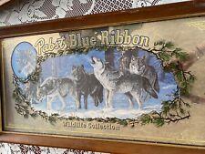 Pabat Blue Ribbon Wildlife Mirror Wolves
