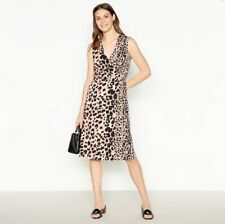 Brand new - Principles Pink Animal / Leopard Print Dress - Size 10.